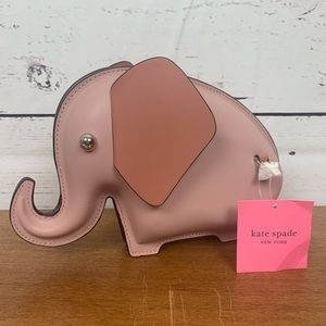 Kate Spade Novelty Tiny Elephant Crossbody Bag